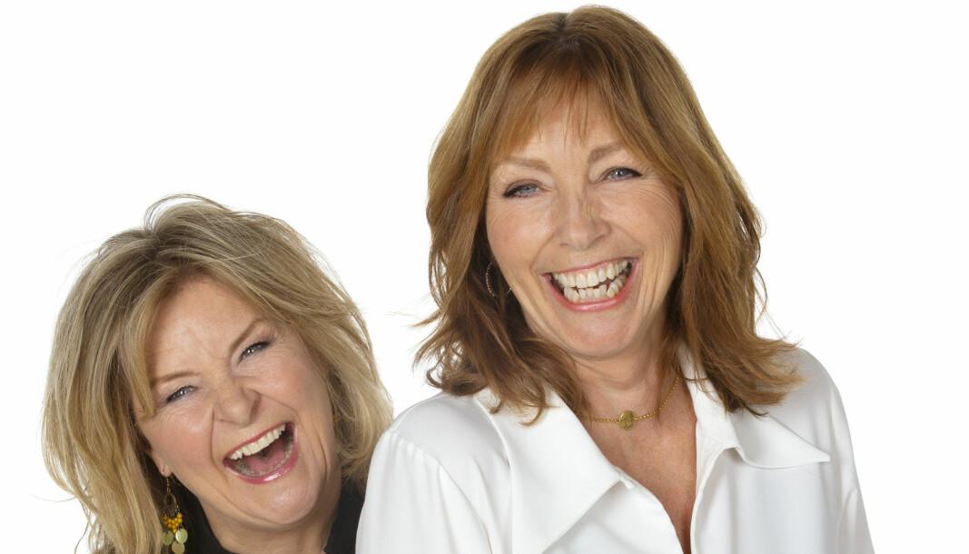 BETTANITA: Elisabeth «Bettan» Andreassen og Anita Skorgan er klare for Kongsvinger og Rådhusteatret.