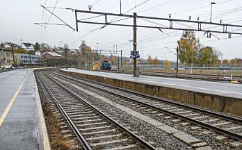 Regjeringen: Ingen stopp her Jernbanesjef: Her blir det stopp