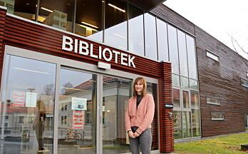 Heidi Linde bokbades på biblioteket i Kongsvinger – med en liten tvist