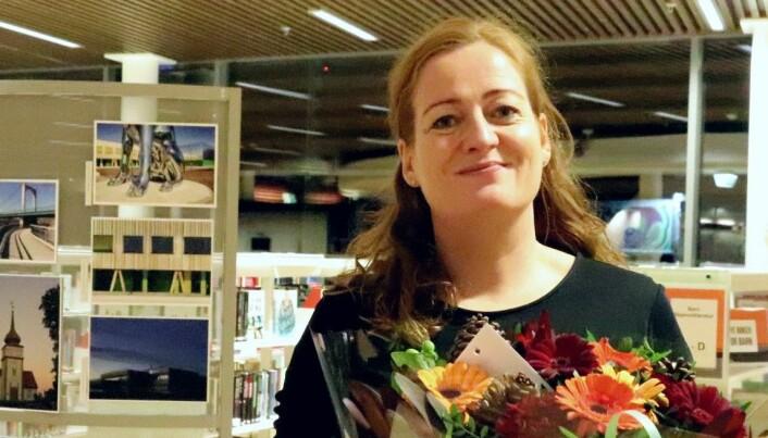 Heidi Linde i Kongsvinger bibliotek: — Velkommen hjem