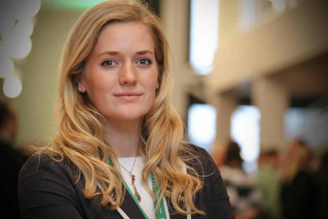 Emilie Enger Mehl sier at kampen om å beholde tingretten i Kongsvinger er ekstremt viktig.