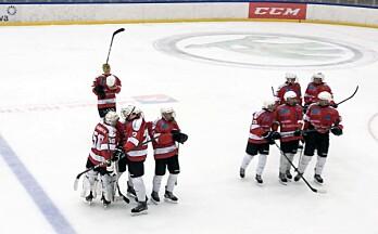 Sesongens første seier for U18
