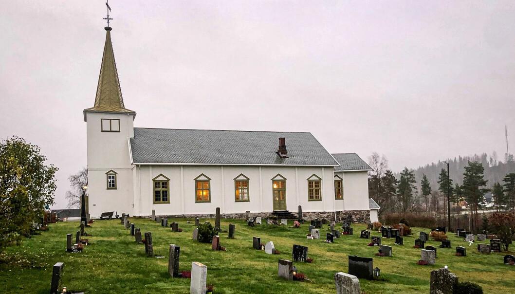 Austmarka kirke holder i likhet med de tre øvrige kirkene i Kongsvinger åpent store deler av søndagen.