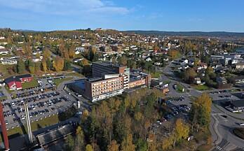 Én person innlagt med koronasmitte på Kongsvinger sykehus