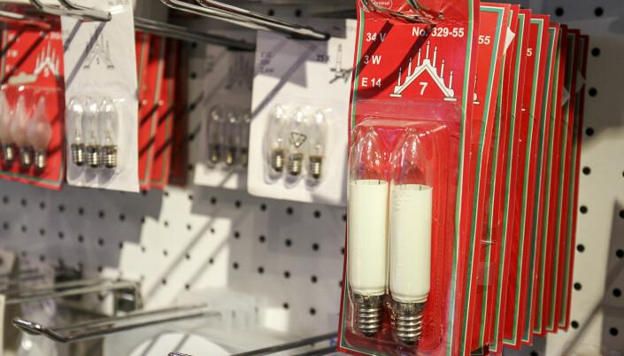 Du finner de fleste lyspærer hos Kongsvinger Elektriske.