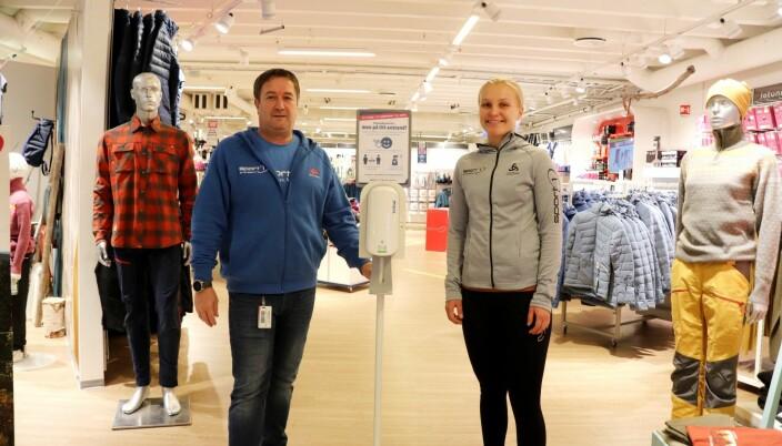 Sport 1 Kongsvinger tilbyr også personlig service, men litt på avstand i disse koronatider.