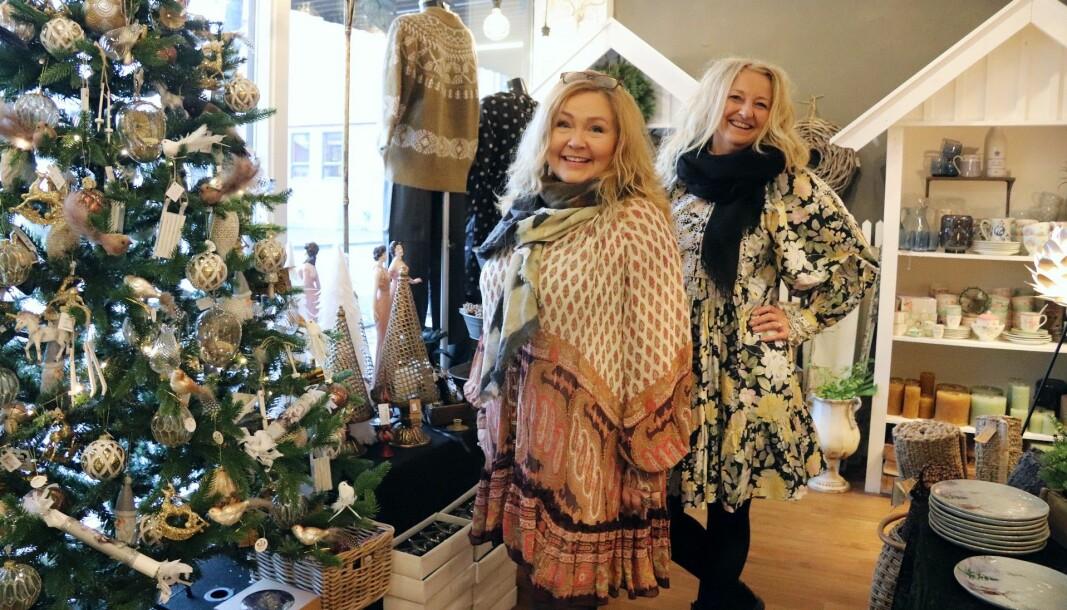 Nå står den viktige julehandelen for tur. Anneli og Aud er spente på resultatet av årets.