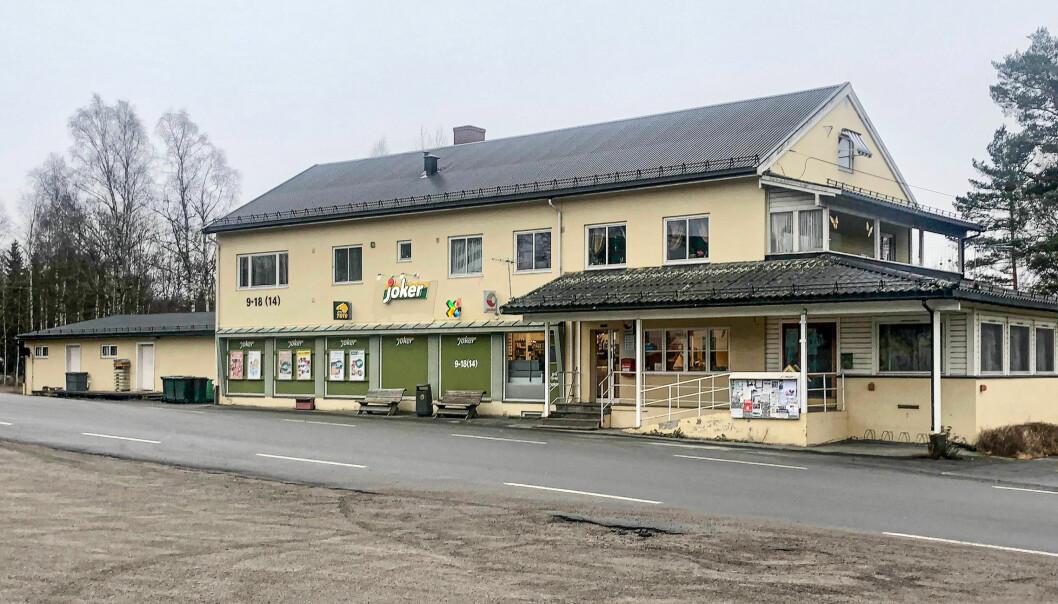 Dette er Joker Austmarka, perfekt beliggenhet rett ved hovedveien.