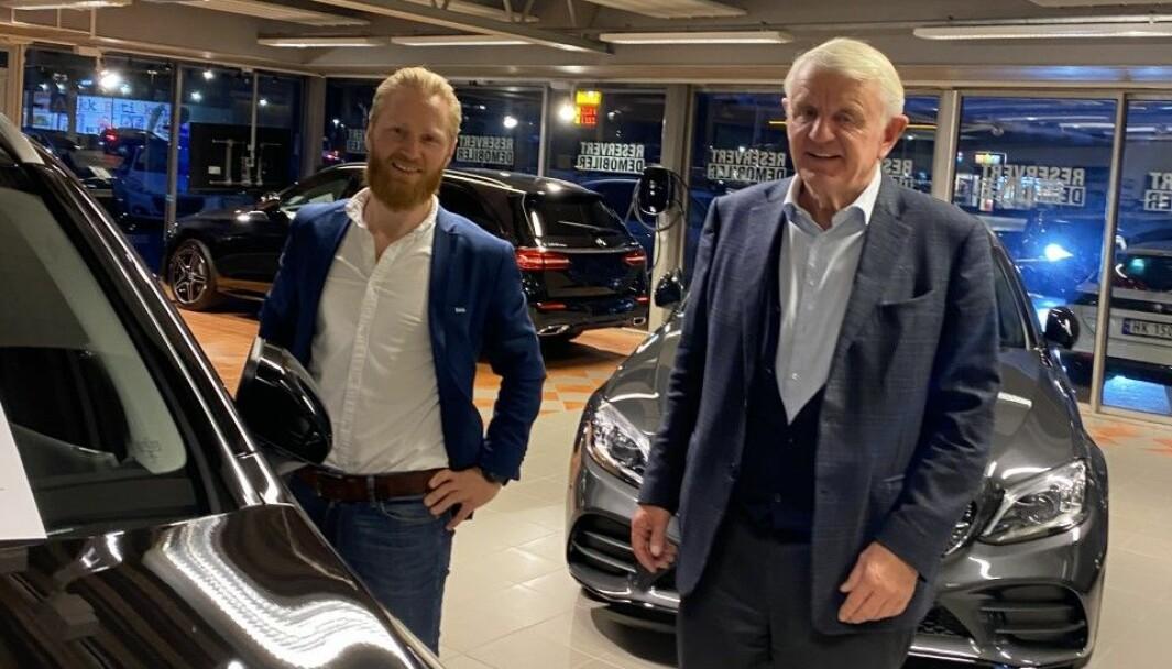 Lars Erik Fremmings er Egil Stenshagens utnevnte i Kongsvinger Bilsenter.