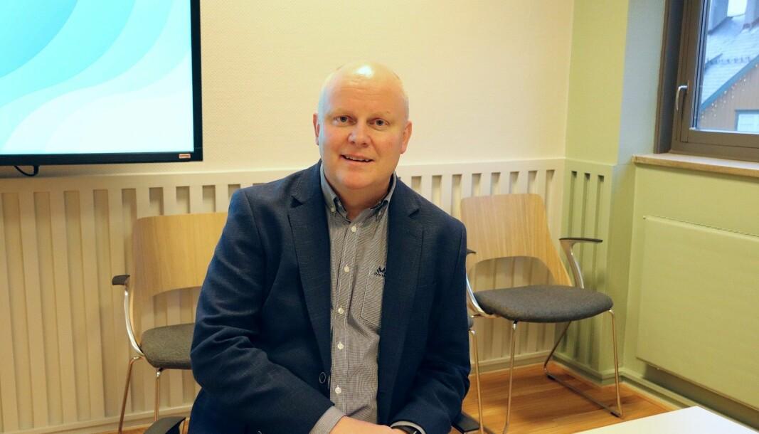 Rådmann Lars Andreas Uglem er gjest i «Navn i nyhetene» på MK-TV.