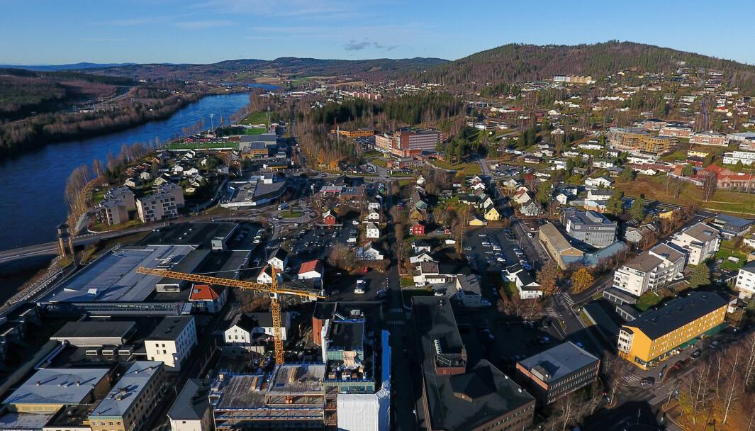 Eiendomsmeglerne melder om brennhett market i Kongsvinger for tiden. Det er selgers marked på eneboliger.