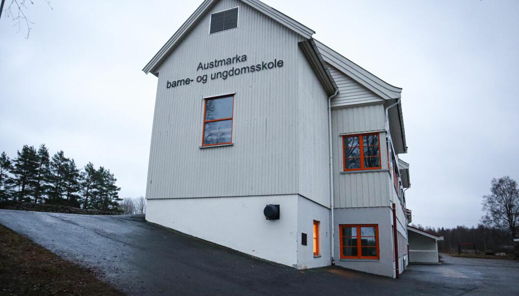 Austmarka barne- og ungdomsskole.