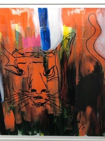 «Tiger i hagen»