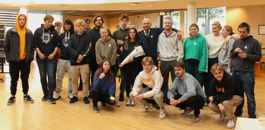 Fredag var det duket for åpningen av 3MKs «pop up museum» på biblioteket i Kongsvinger.