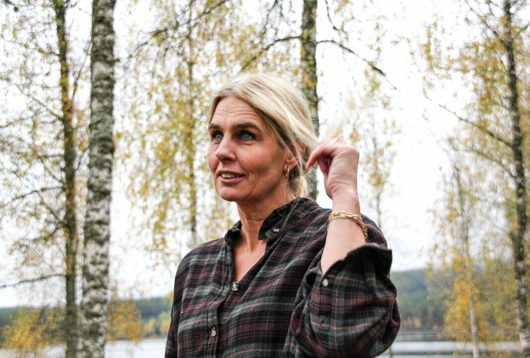 Pia Fischer er hjemme på Lundersæter så ofte hun kan.