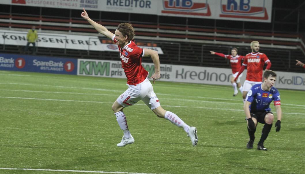 Christian Røer ble den store helten da KIL vant 3-2 på overtid mot Stjørdals-Blink.