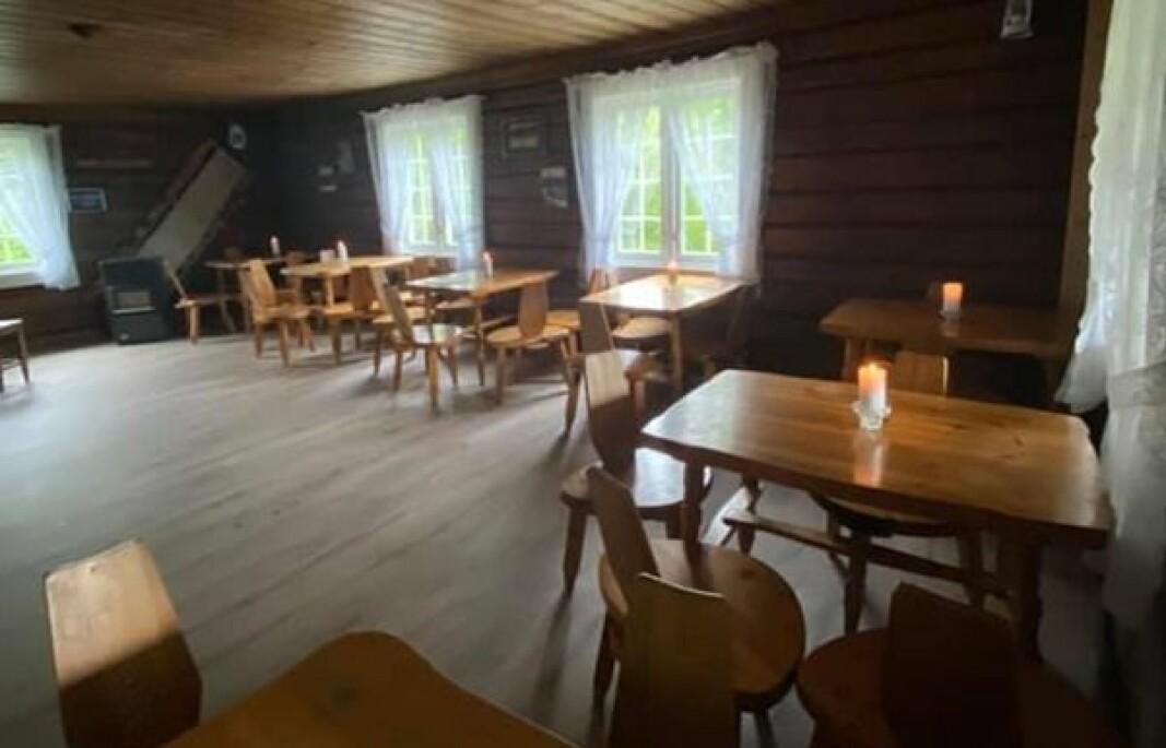 Skihytta på Tjernsli er pusset opp. Til vinteren holder KIL-Ski den smittesikkert åpent lørdager og søndager fra 9. januar.