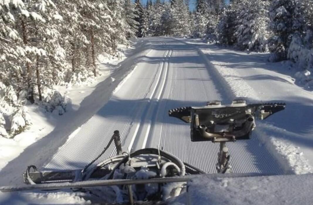 Slik vil vi ha det. KIL-Ski kjører opp mer enn 50 km trikkeskinneløyper vinteren i gjennom. Men gratis er det ikke. Alle bidrag hjelper.