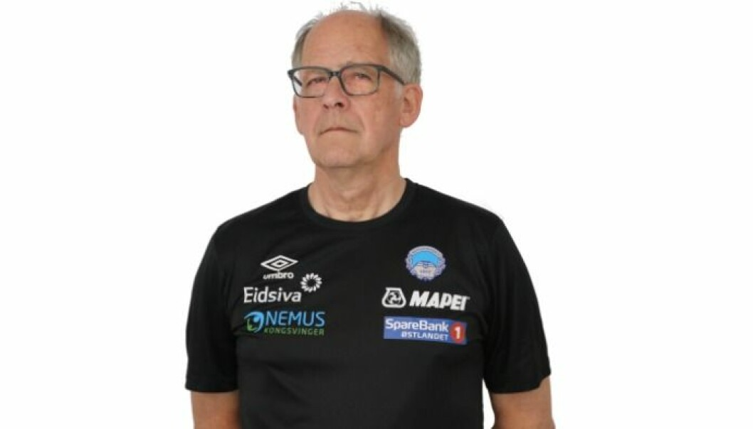 Klubblege Åge Henning Andersen i KIL