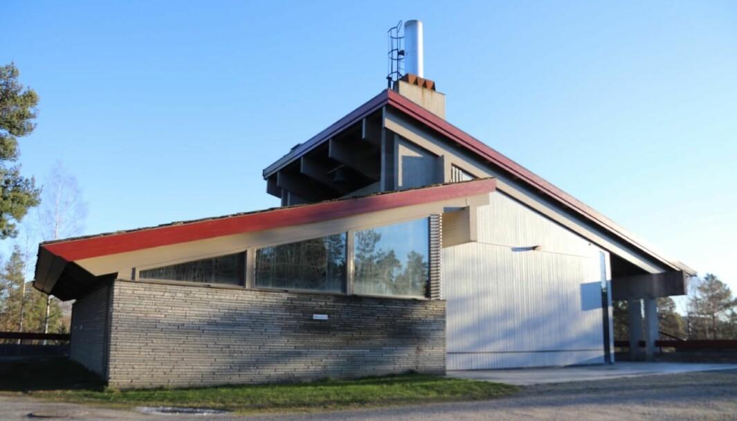 Dagens krematorium i Kongsvinger, bygning fra 1975