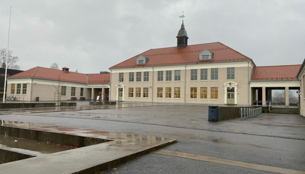 Sentrum videregående skole står for flesteparten av studieplassene i Kongsvinger.