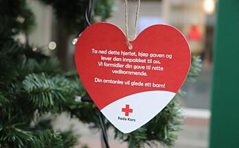 Kongsvinger Røde Kors sitt «ønske-tre» på plass i Gågata