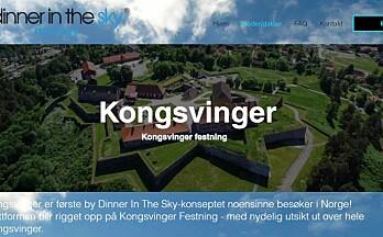 Til sommeren kan du spise en luftig middag over Kongsvinger