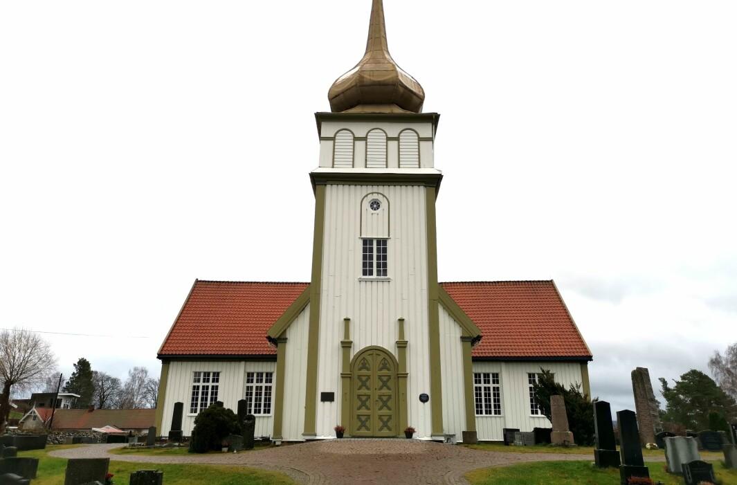Vinger kirke er stedet for Juleallsang søndag 6. desember.