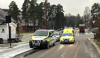 To personbiler krasjet i ulykkesbelastet kryss