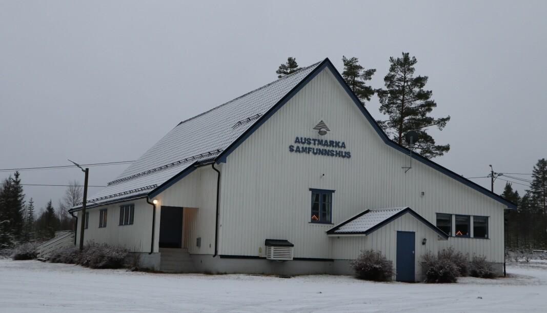 På Austmarka har samfunnshuset stort sett stått tomt siden koronastengingene ble innført i marsmåned.