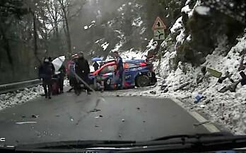 Bråstopp i WRC-debuten