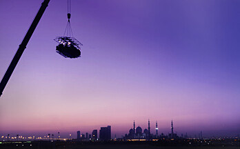 Fra Abu Dhabi til Kongsvinger: Nå er billettene til «Dinner in the sky» ute