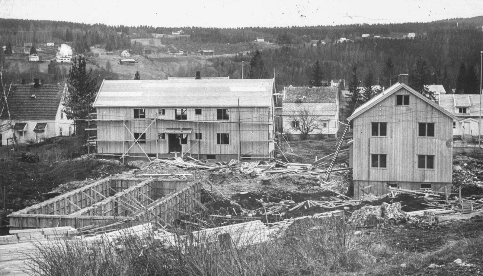 I 1956 sto 12 leiligheter i Eidems gate i Midtbyen klare.
