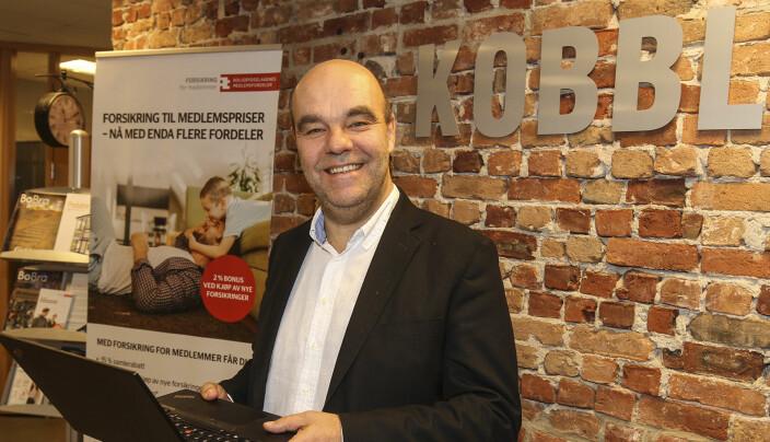 Odd Henning Dypvik er administrerende direktør i jubileumsåret.