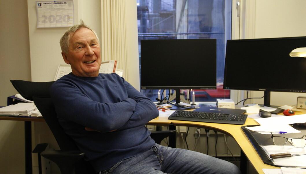 Harald Furholt går av med pensjon i en alder av 67 år. Han har jobbet i KOBBL siden han var 27.