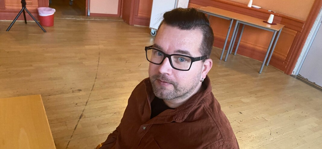 Tommy Smedtorp, 2. mannen på den lokale Sp-lista, fikk spille hovedrollen i en langdryg budsjettprosess.