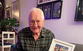 Sjakkens «grand old man» i Kongsvinger fyller 90 år - og er fortsatt aktiv spiller