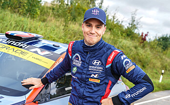 Veiby vant NM-runden i rally
