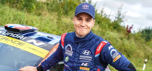 Veiby signerte ny WRC-kontrakt