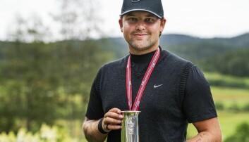 Kevin Wright er norgesmester i golf og medlem i Kongsvinger.