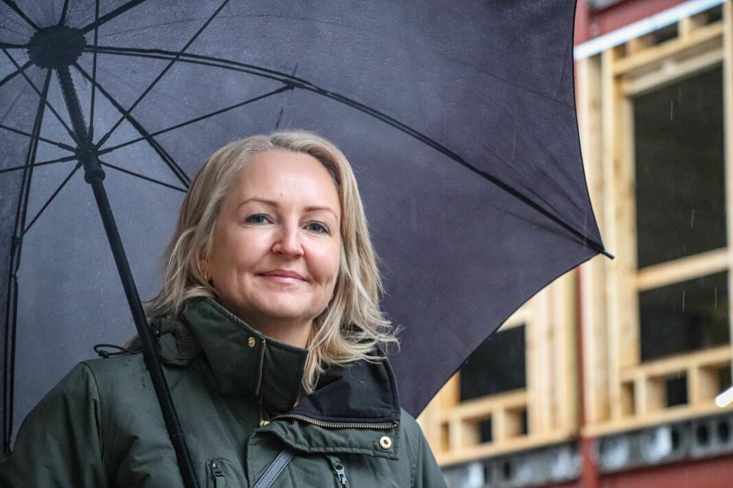 Kjersti Wangen får ansvar blant annet for det nye bolig- og forretningsbygget i Haugekvartalet.
