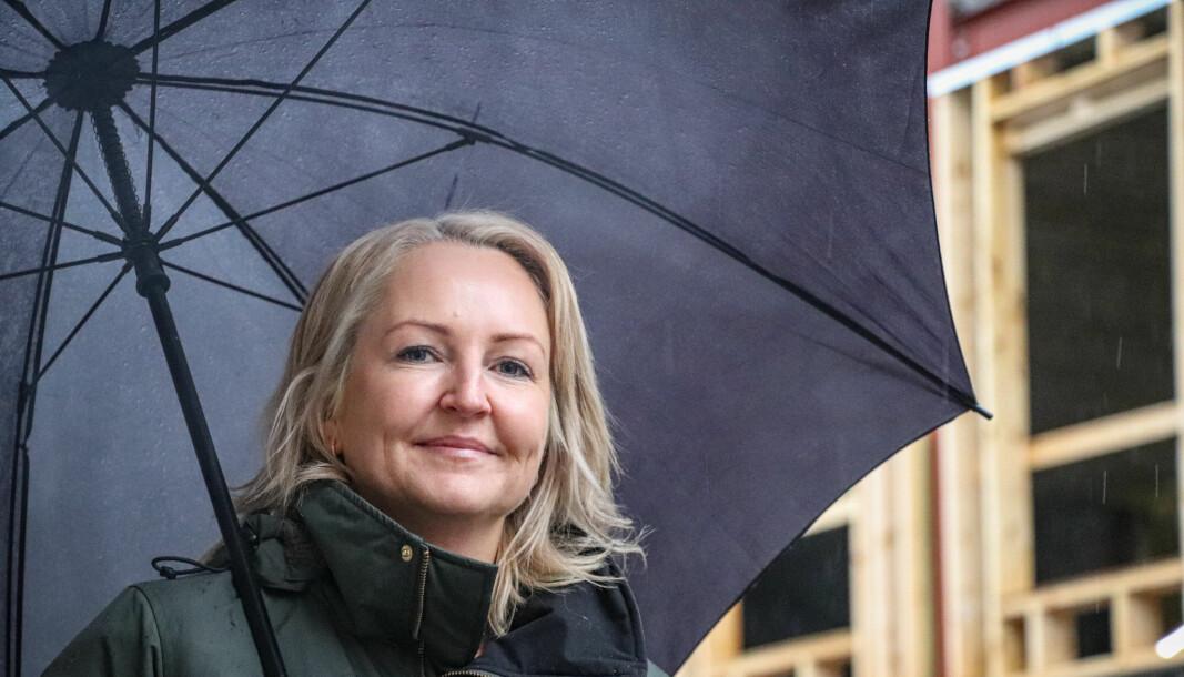 Kjersti Wangen er fungerende styreleder i Golfklubben og kan glede seg over millionoverskudd i fjor.