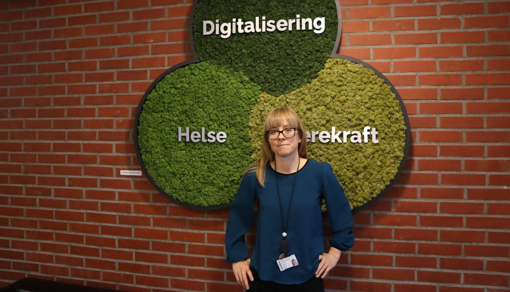 Kristina Kvarv Andreassen er ansvarlig for det nye fagskoletilbudet.