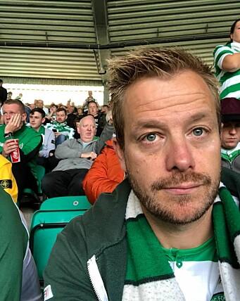 Lars Joakim Hanssen er lidenskapelig opptatt av fotball og har sesongkort på Celtic Park.