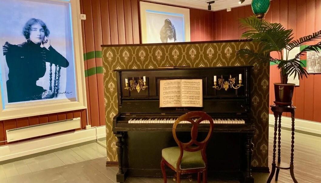 Dagny Juel var både musiker og forfatter. Og bohem.