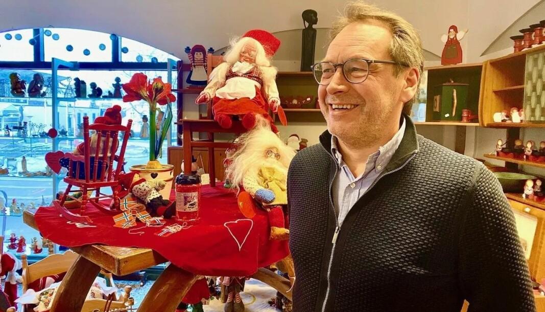 Geir Hagerud er stolt av Overskuddsfabrikken
