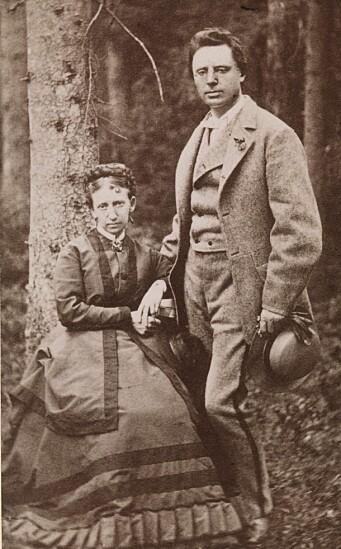 Thomasine og Jonas Lie