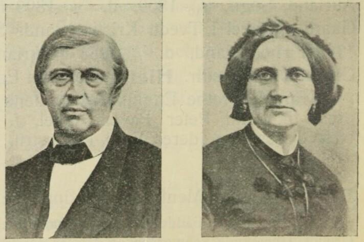 Mentz og Hanna Rynning var vertskap på Skinnarbøl i en mannsalder. Det manglet aldri på vått eller tørt for gjestene.