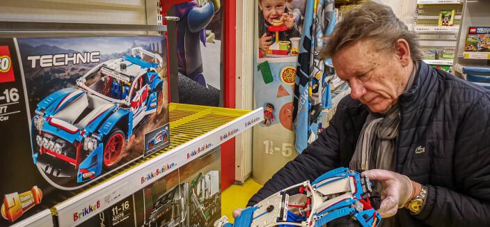 Erik (61) er den nye Lego-kunden