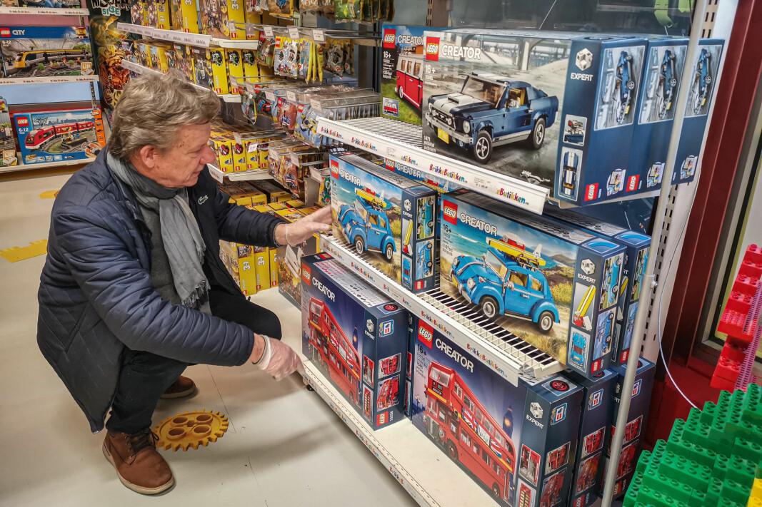 Technics-serien er blitt komplettert av flere serier - blant annet Creator. Her finnes det mye snadder for Lego-byggere i alle aldersklasser.